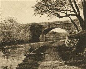 Photo:Military Bridge c 1890